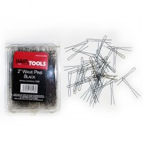 "Hair Tools Wave Pins 2"" Black  x 1000"