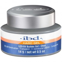 IBD LED/UV Builder Gel Clear 0.5oz / 14g