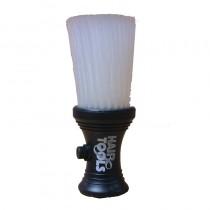 Hair Tools Black and White Powder Neck Brush