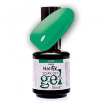 NailFX Jade Soak Off Coloured Gel Polish 15ml