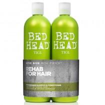 TIGI Bed Head Re-Energize Shampoo & Conditioner Tween Duo Pack 750ml