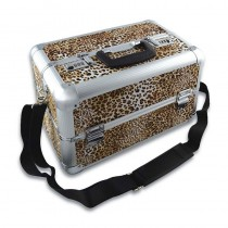 Deo Leopard Skin Beauty Case Small