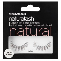 Salon System Naturalash 090 Black Strip Lashes