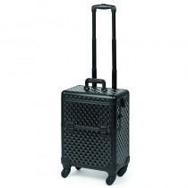 Sibel 2 In 1 Beauty Trolley Black