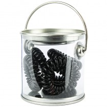Bucket Of Bobbles x 6 Black
