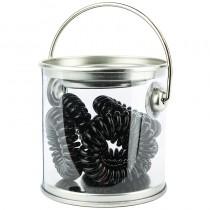 Bucket Of Bobbles x 6 Black