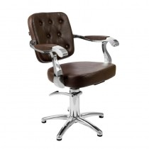 Lotus Minster Styling Chair Brown 5 Star Base