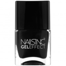 Nails Inc Black Taxi Gel Effect Nail Polish 14ml