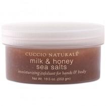 Cuccio Naturale Milk & Honey Sea Salts Hand & Body 553g(19.5oz)