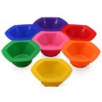 Rainbow Tinting Bowl Set of 7 Bowls
