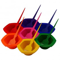 Rainbow Tinting Brush Set of 7 Brushes