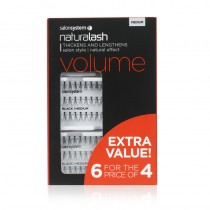Naturalash Extra Value Medium 6 for 4 Individual Lashes