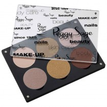 Peggy Sage Empty Palette for 6 Eyeshadows or Blush