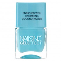 Nails Inc Portobello Terrace Gel Effect Nail Polish Coconut Brights 14ml