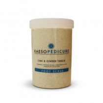 Kaeso Lime And Ginger Tingle Foot Scrub