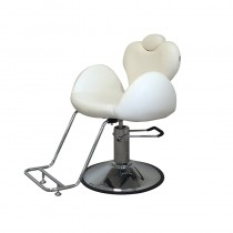 Lotus Monroe Beauty Chair White