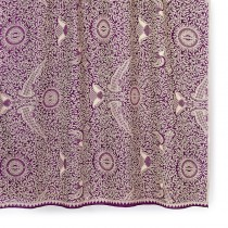 Spa Essentials Indonesian Batik Sarong Plum