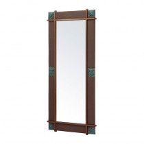 Lotus Jackson Brown Mirror Unit