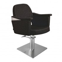 Lotus Duvall Black Styling Chair