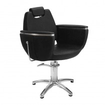 Lotus Hamilton Extra Black Styling Chair With Star Base
