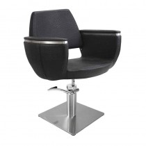 Lotus Hamilton Black Styling Chair With Square Base