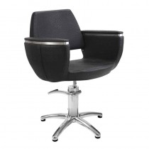 Lotus Hamilton Black Styling Chair With Star Base