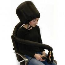 Hair Tools Black Portable Hairdryer Hood