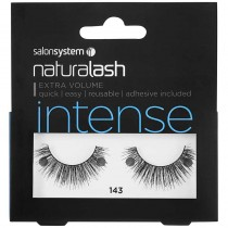 Salon System Naturalash 143 Black Intense Strip Lashes