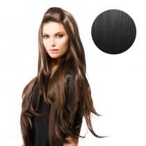BiYa Seamless 3/4 Wig 1b Natural Black