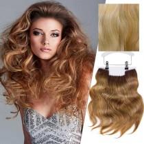 Balmain Clip-In Weft Memory Hair Amsterdam 45cm 8G.9G/10A