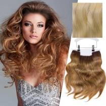 Balmain Clip-In Weft Memory Hair Stockholm 45cm 10G/10A