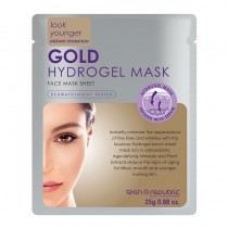 Skin Republic Gold Hydrogel Face Mask Sheet 25g Pack of 10