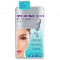 Skin Republic Hyaluronic Acid & Collagen Face Mask Sheet 25ml