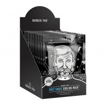 BARBER PRO Post Shave Cooling Mask Retail Display Case 11+1