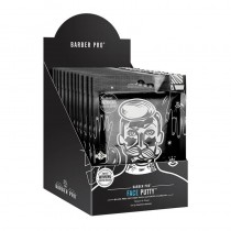 BARBER PRO Face Putty Black Peel-Off Mask Retail Display Case Box of 12