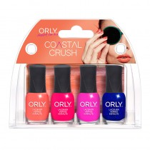 Orly Coastal Crush Collection Nail Polish 4 Piece Mini Kit