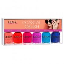 Orly Coastal Crush Collection Nail Polish 6 Piece Kit