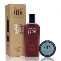 American Crew Fiber Essential Kit For Men