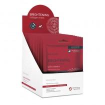 BeautyPro BRIGHTENING Collagen Sheet Mask 23g RETAIL DISPLAY CASE