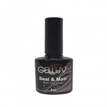 Gelluv Pure Matt Top Coat 8ml Gel Polish