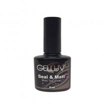 Gelluv Pure Matt Top Coat 8ml Gel Polish