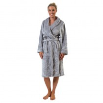 Supersoft Silver Robe Large/X Large