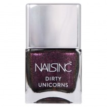 Nails Inc Rainbow Hooves Pink Dirty Unicorn Collection Nail Polish 14ml