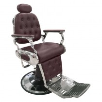 Lotus Regency Barber Chair Red-Brown