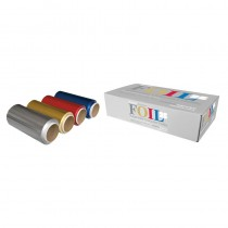 Procare Premium Superwide Coloured Foil 4 Pack 4 x 12cm x 50m