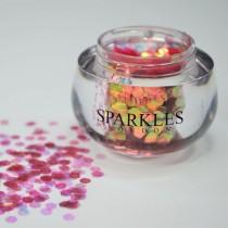 Sparkles London Mariah Big & Chunky Salmon Face Glitter