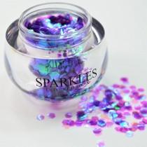 Sparkles London Ariana Big & Chunky Purple Face Glitter