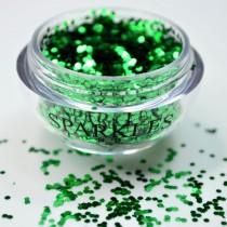 Sparkles London Perry Smile & Shine Emerald Green Lip Glitter