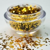 Sparkles London Beyonce Smile & Shine Gold Lip Glitter