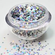 Sparkles London Miley Smile & Shine Holographic Silver Lip Glitter